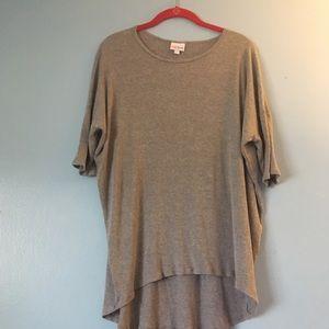 Lularoe gray tunic